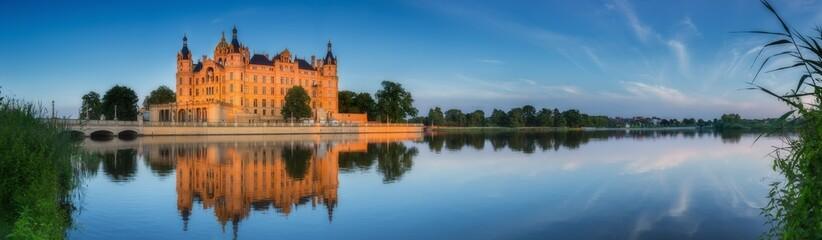 Schwerin Schloss Panorama