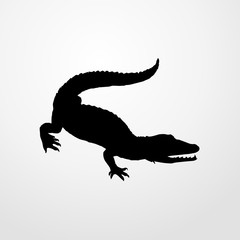 crocodile icon. crocodile sign