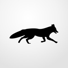 fox icon. fox sign
