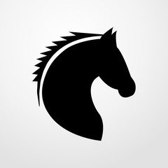 horse icon. horse sign