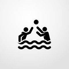 water polo icon. water polo sign