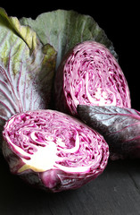 Rotkraut_red cabbage_czerwona kapusta_chou rouge