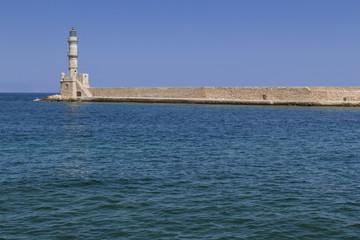 Chania Port Crete Greece