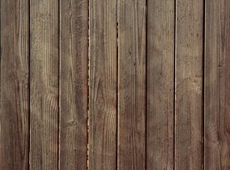 Wooden fence, closeup