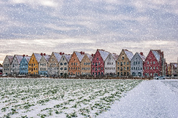 Jakriborg From Snowy Field