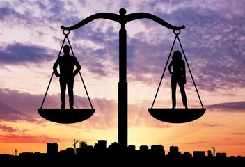 Social balance between women and men
