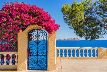 Idyllic view to Mediterranean Sea Coast