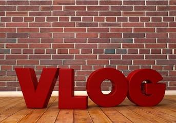 VLOG, 3D Typography