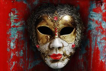 Eine alte Maske aus Venedig (Digiart)
