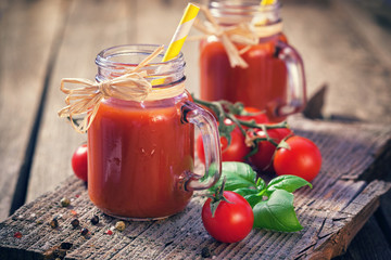 Fresh Homemade Tomato Juice