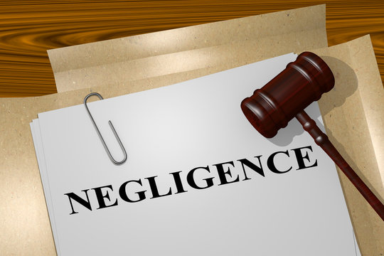 Negligence legal concept
