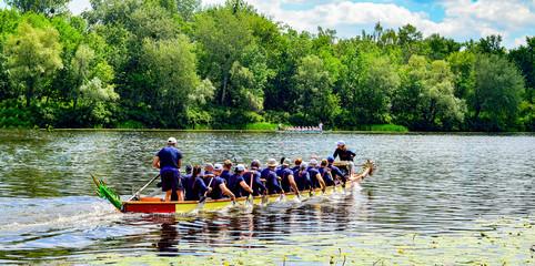 Dragon Boat Festival took place in Kiev Ukraine