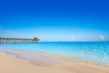 Fototapete - Cocoa Beach pier in Cape Canaveral Florida