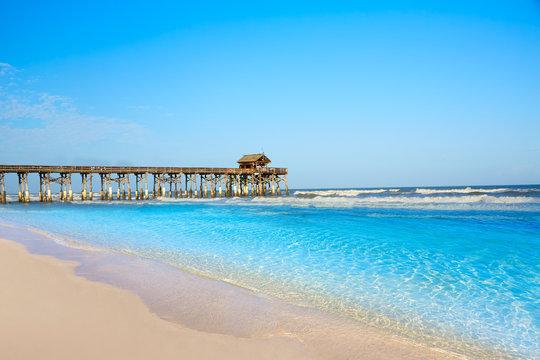 Cocoa Beach pier in Cape Canaveral Florida
