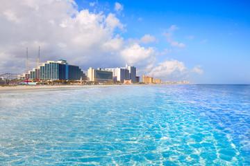 Fototapete - Daytona Beach in Florida coastline USA