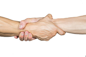 agarron de manos