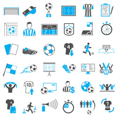 Soccer Icons Set