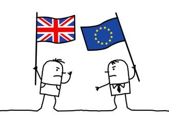 Cartoon people opinions - English and European