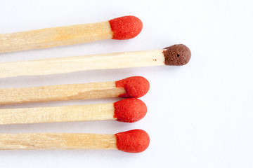 Wooden match