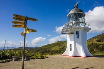 Lighthouse (Leuchtturm) Cape Reinga #3 - New Zealand (Neuseeland)