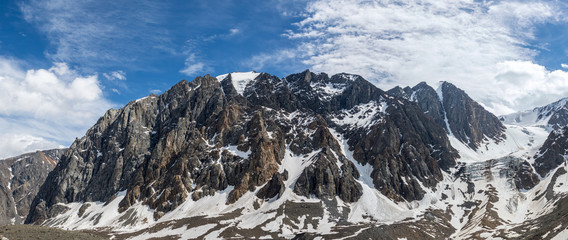Beautiful view of a mountains landscape in Altai mountains
