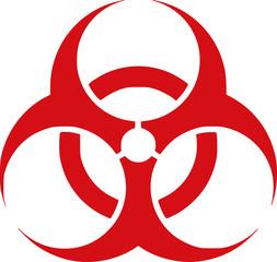 Red Biohazard - danger