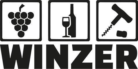 Winemakers icon - german