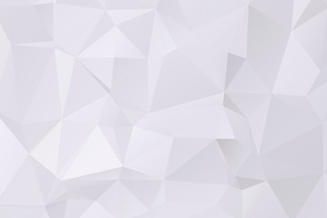 gray polygonal Mosaic paper background