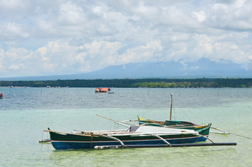 Fishing boat in the Philippines sea photo