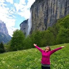 Enjoying Swiss Alps