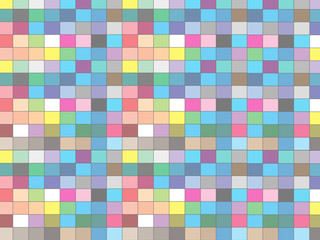 color Geometric Background Colorful Pattern with square