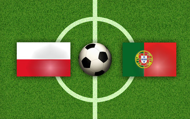 Viertelfinale Polen gegen Portugal, Round of 8 Poland vs Portugal