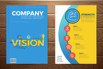 Business vision book cover