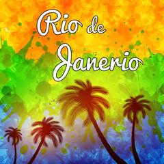 Rio de Janeiro travel background