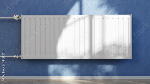 Heizung An Wand Im Haus Stock Photo And Royalty Free Images On