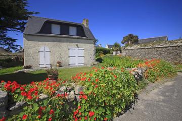 Francia,Bretagna,Roscoff. Isola di Batz.