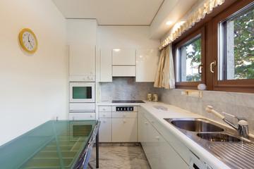 Interior, domestic kitchen