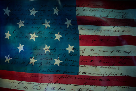 Usa America national anthem Star Spangled Banner