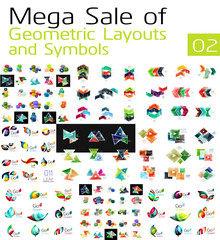 Mega collection of abstract symbols