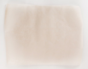 Parchment for baking culinary