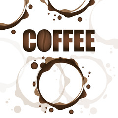 Coffee digital design, vector illustration eps 10.