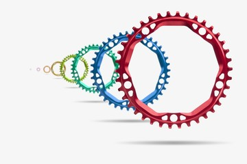 Bicycle Chainrings photography