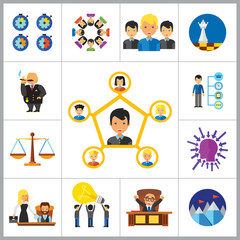 Strategy Icon Set