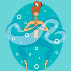 yoga in mediation