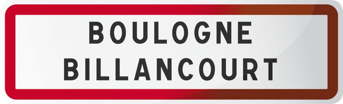 BOULOGNE BILLANCOURT : Ville des Hauts-de-Seine - 92 - Région Ile de France