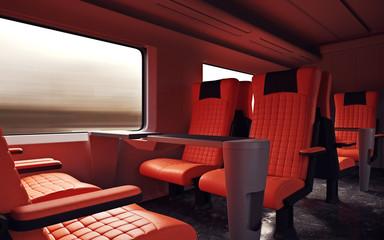 firstclass modern armchair. Interior Inside First Class Cabin Modern Speed Express Train Empty Red  Chairs Window Comfortable Search photos luxurious armchair