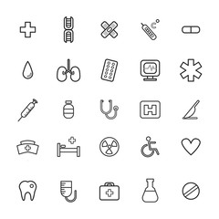 Vector UI Illustration Health Healthcare Hospital Concept