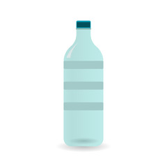 Vector Illustration of bottle of water