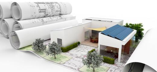 Bauplanung VI (panoramisch)