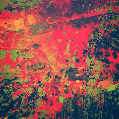 Fototapete - abstract splash painting background
